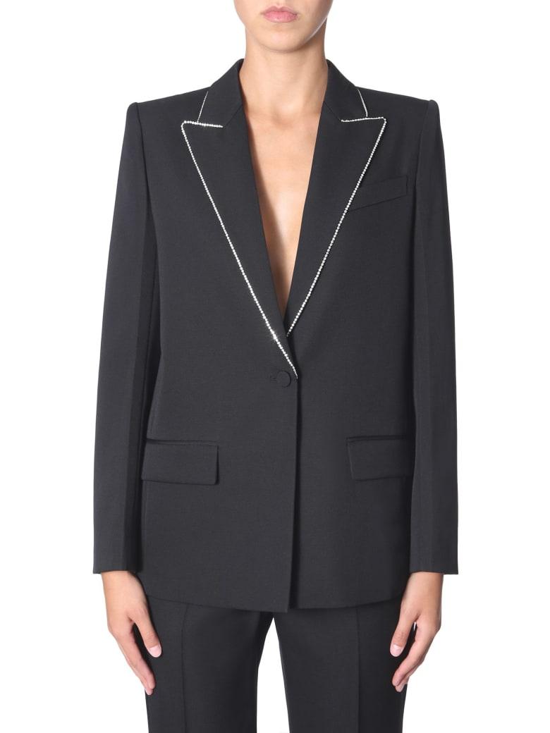 Givenchy Wool Blazer With Strass - NERO