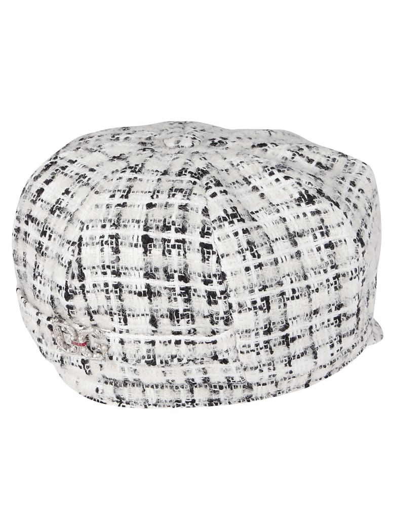 Dolce & Gabbana White Cotton Hat - Bianco