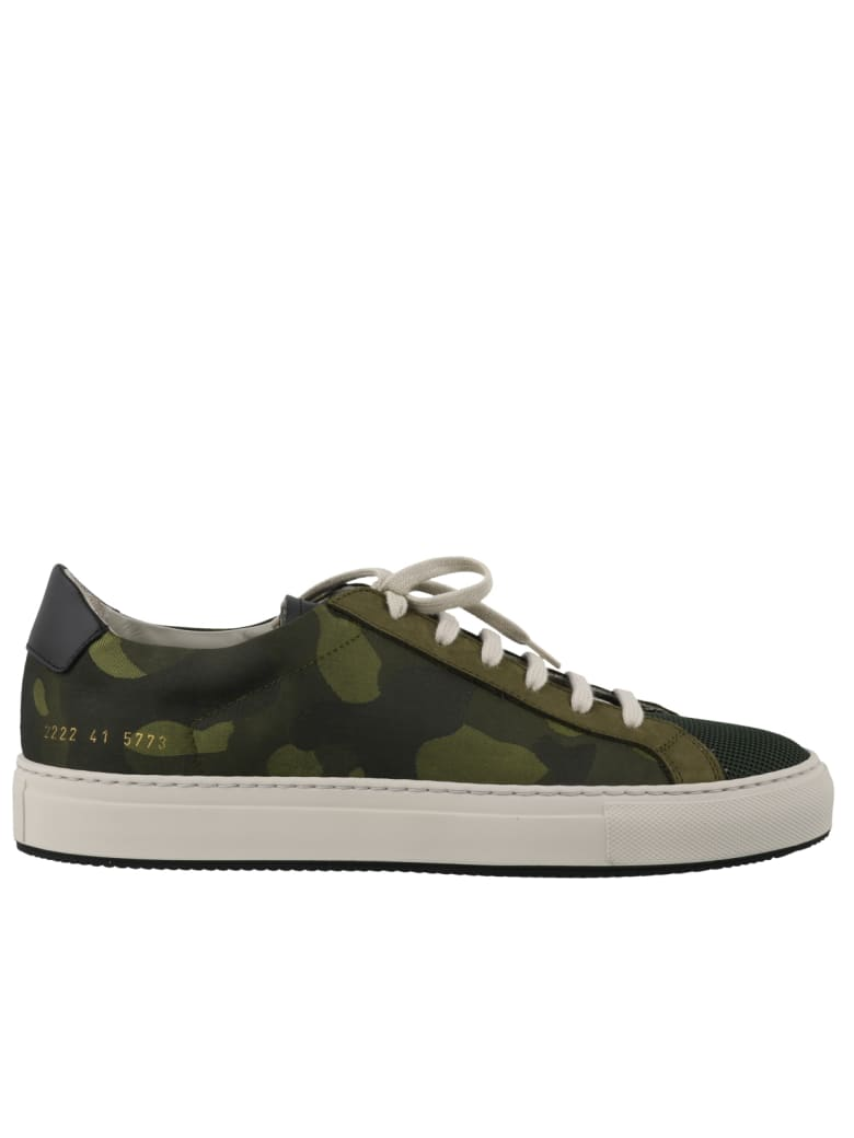 Common Projects Achilles Camouflage Sneakers - Multicolor