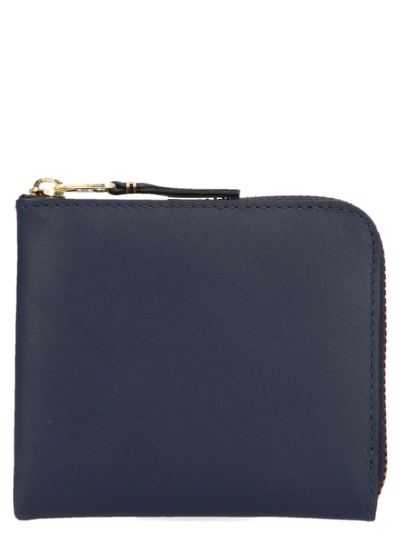 Comme des Garçons 'classic Leather Line' Wallet - Blue