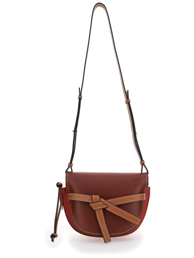 Loewe Gate Small Bag - Garnet/pomodoro