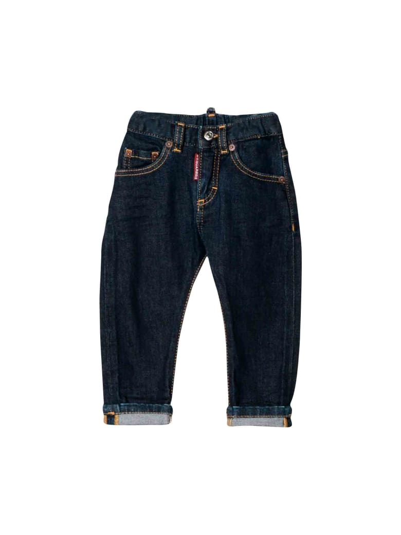 Dsquared2 Dark Denim Jeans - Unica