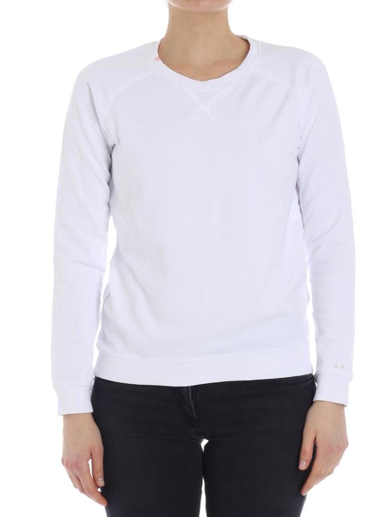 Sun 68 Cotton Sweatshirt - WHITE