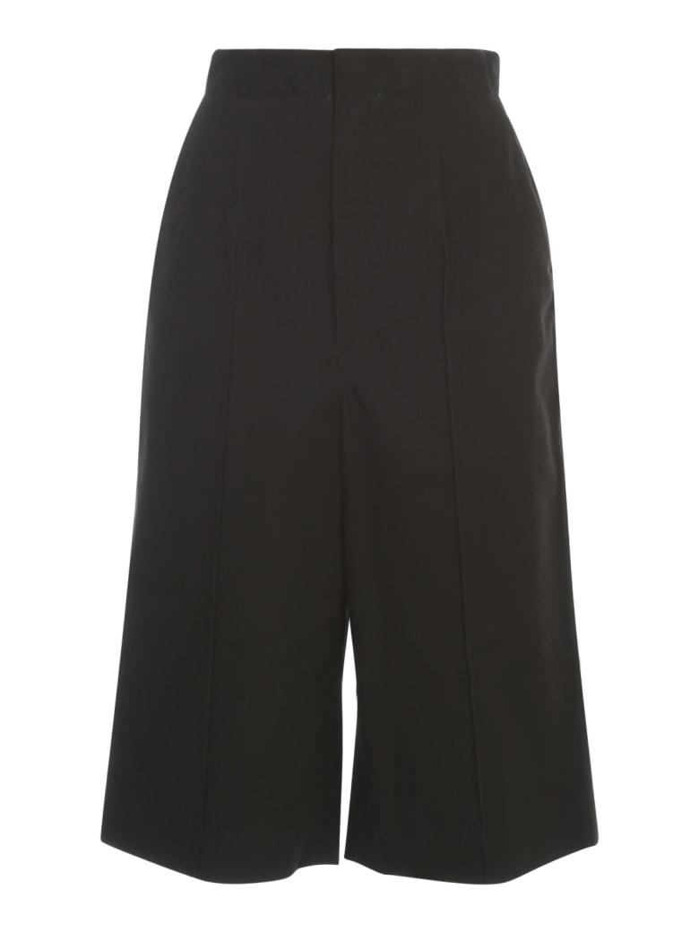 Y's K Pin Tuck Pants - Black