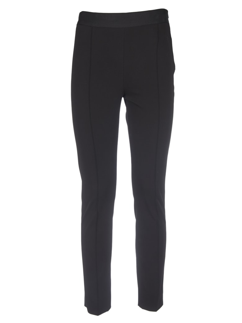 Paul Smith Black Trousers With Stitched Pleat - Black