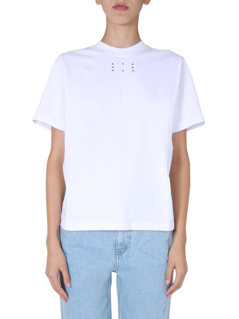 McQ Alexander McQueen Regular Fit T-shirt - BIANCO