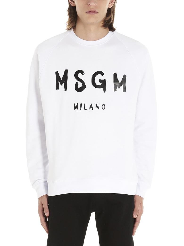 MSGM Sweatshirt - White