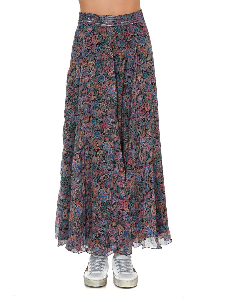 Zadig & Voltaire Joyo Long Skirt - Multicolor