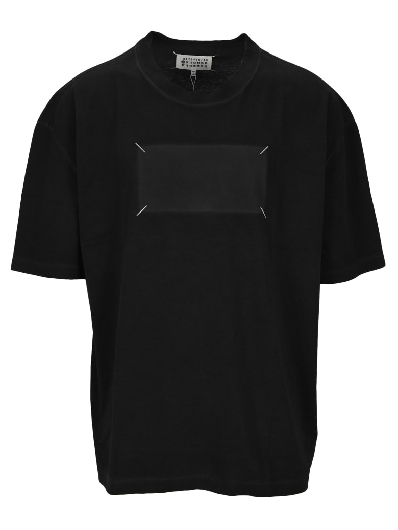Maison Margiela Martin Margiela 'memory Of' Label T-shirt - BLACK