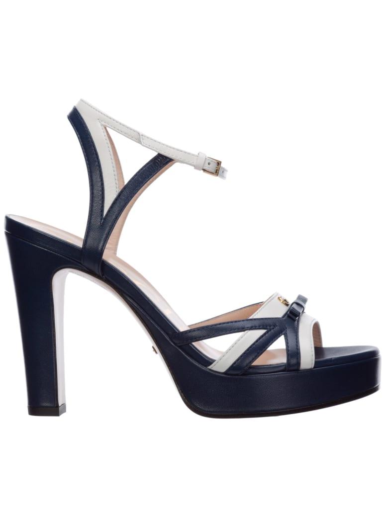 Gucci Orbyt Sandals - blue
