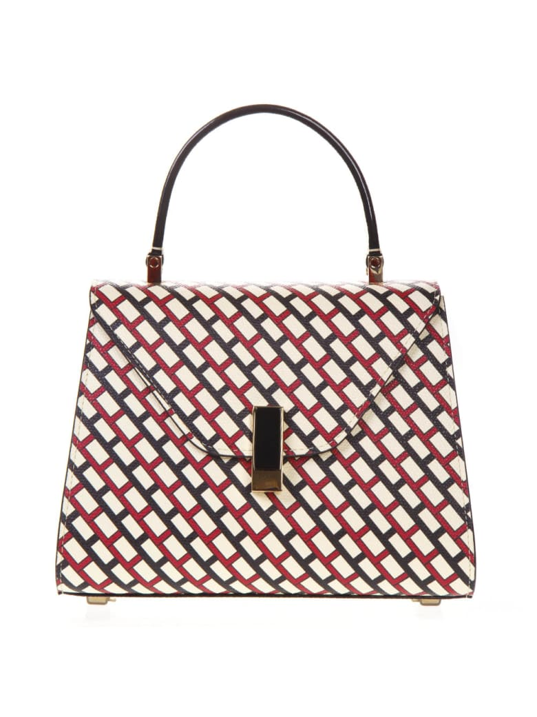 Valextra Iside Graphic Leather Print Bag - Multicolor