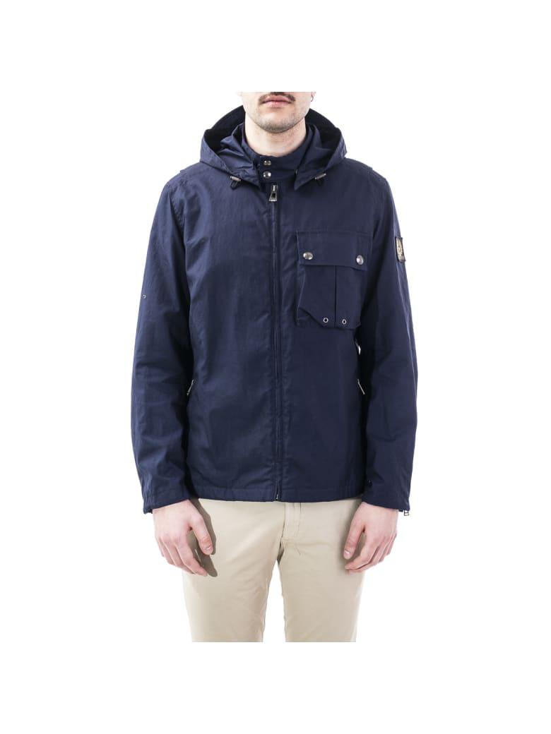Belstaff Cotton Jacket - DARK BLUE
