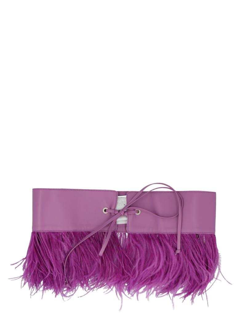 The Attico Belt - Purple