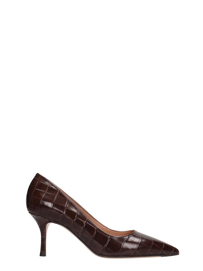 The Seller Pumps In Brown Leather - brown