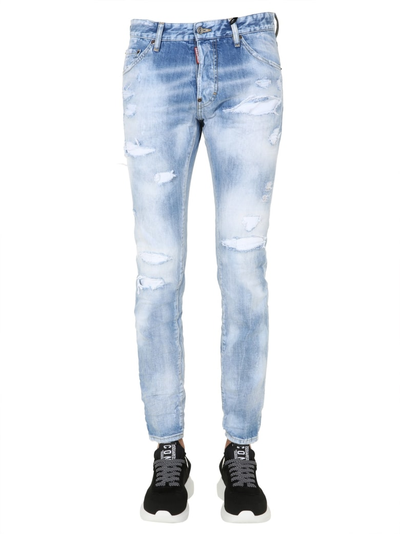 Dsquared2 Rainbow Jeans - BLU