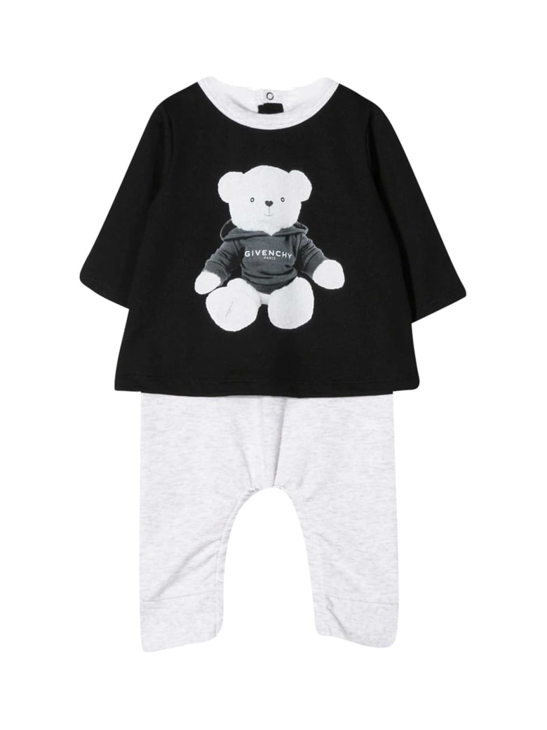 Givenchy Kids Printed Jumpsuit - Nero