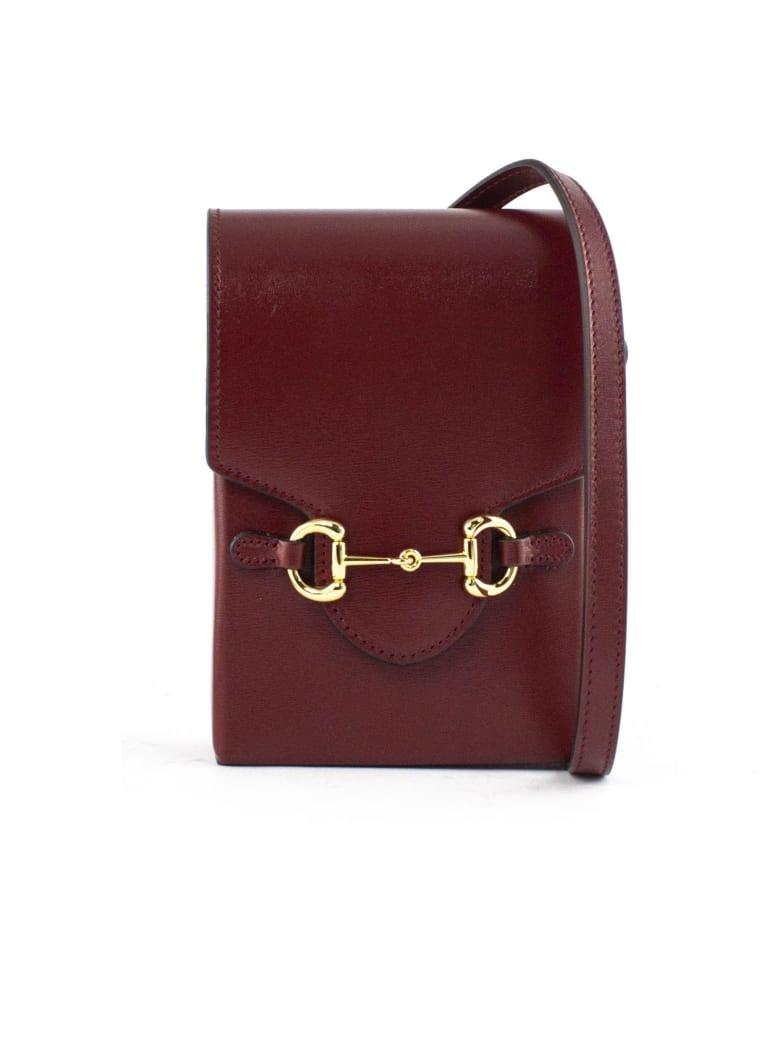 Gucci Gucci Horsebit 1955 Mini Bag - Bordo