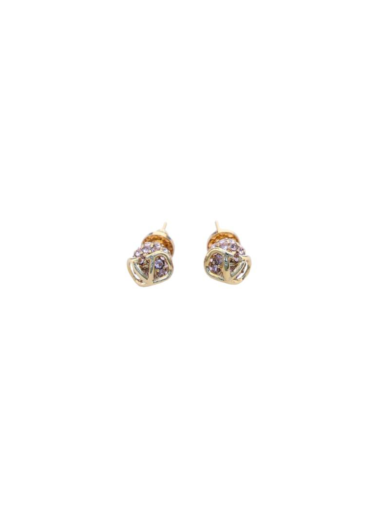 Valentino Garavani Stud Earrings - Black