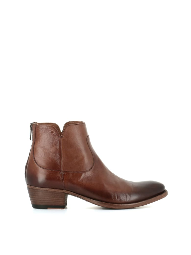 "Pantanetti Ankle Boots ""12165d"" - Leather"