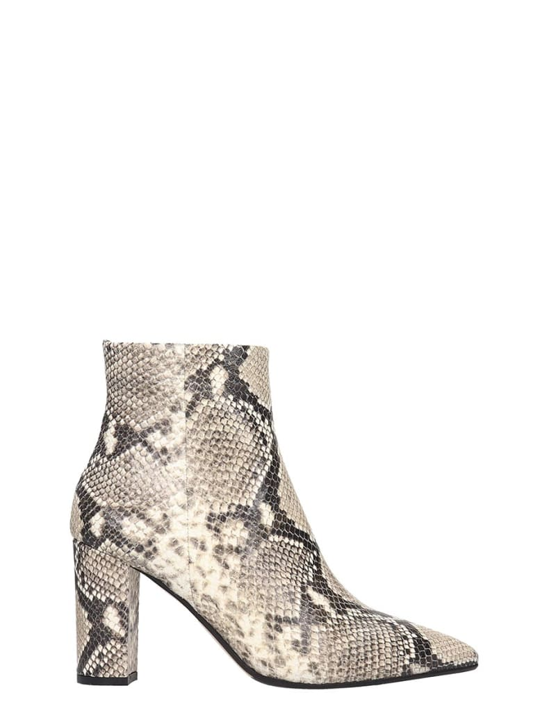 The Seller Ankle Boots In Animalier Leather - Animalier