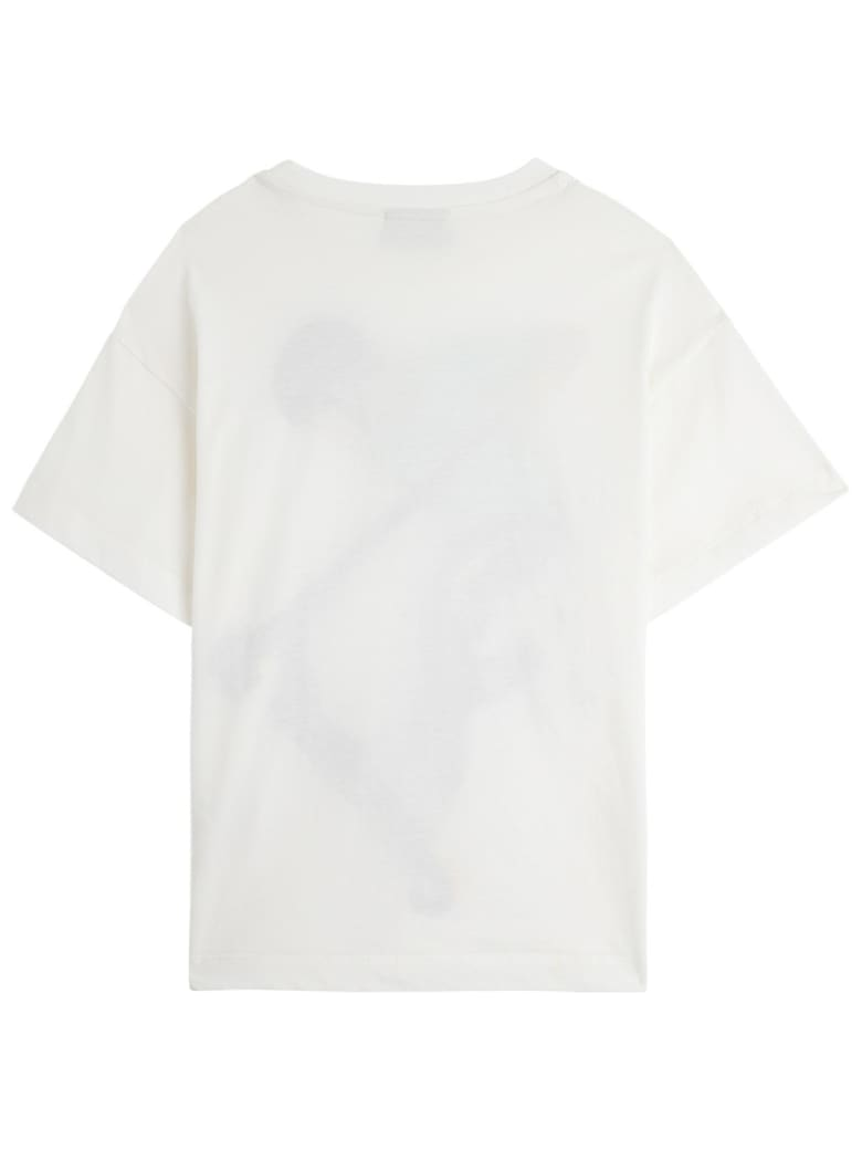 Fendi Mas Jersey T-shirt With Print - White