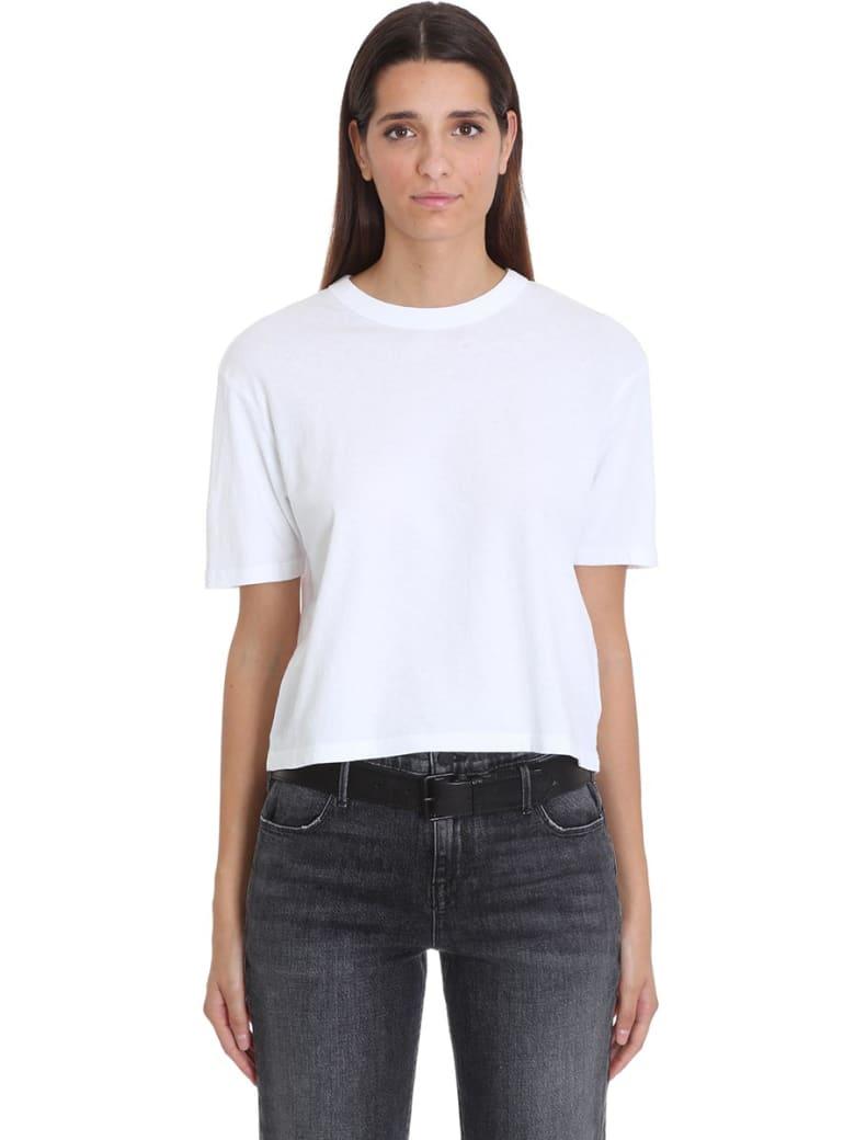 RTA T-shirt In White Cotton - white