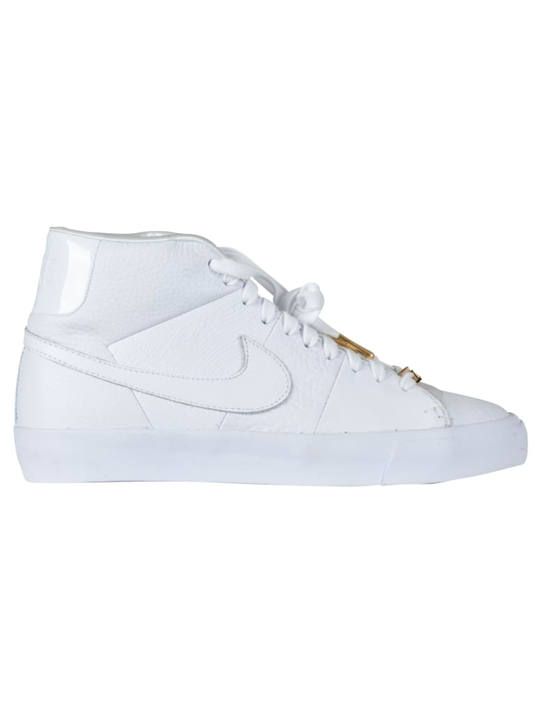 Nike Blazer Royal Qs - White/white-white- Ar8830-100 - Bianca