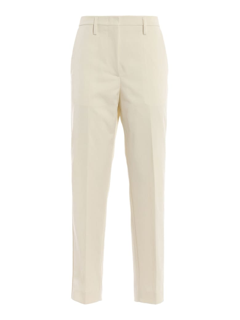 Golden Goose Techno Twill Trousers - Papyrus