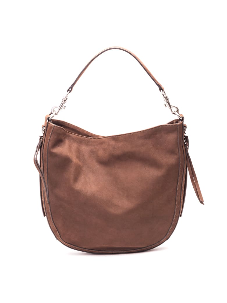 Gianni Chiarini Leather Bag - CIGAR
