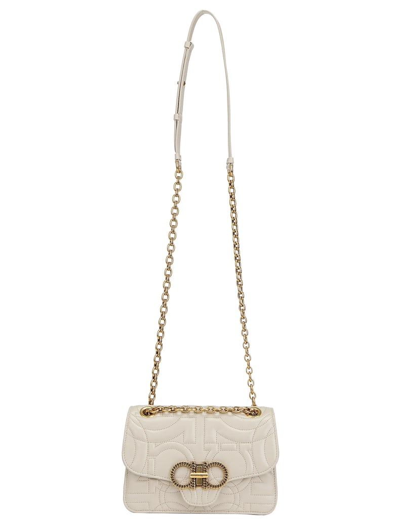 Salvatore Ferragamo Quilting Shoulder Bag - Peony