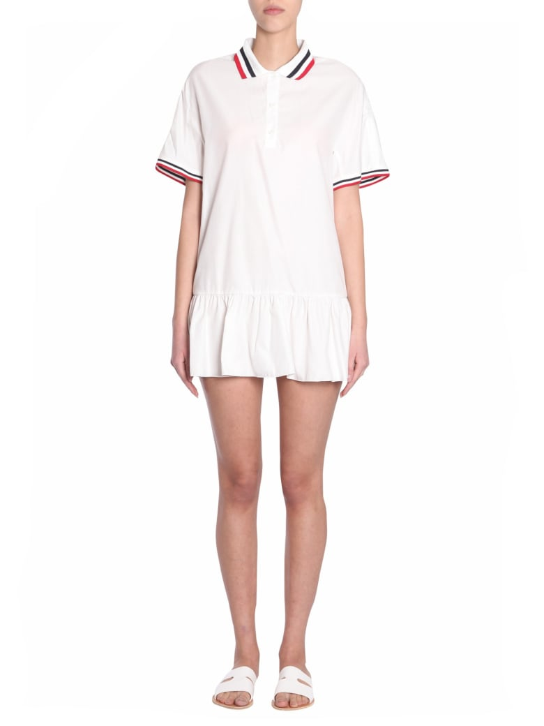 Moncler Gamme Rouge Glissade Dress - BIANCO