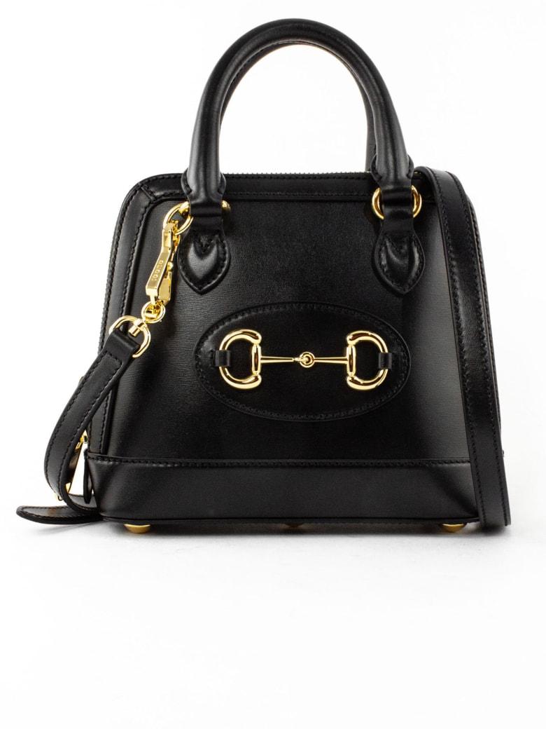 Gucci Gucci Horsebit 1955 Mini Top Handle Bag - Nero