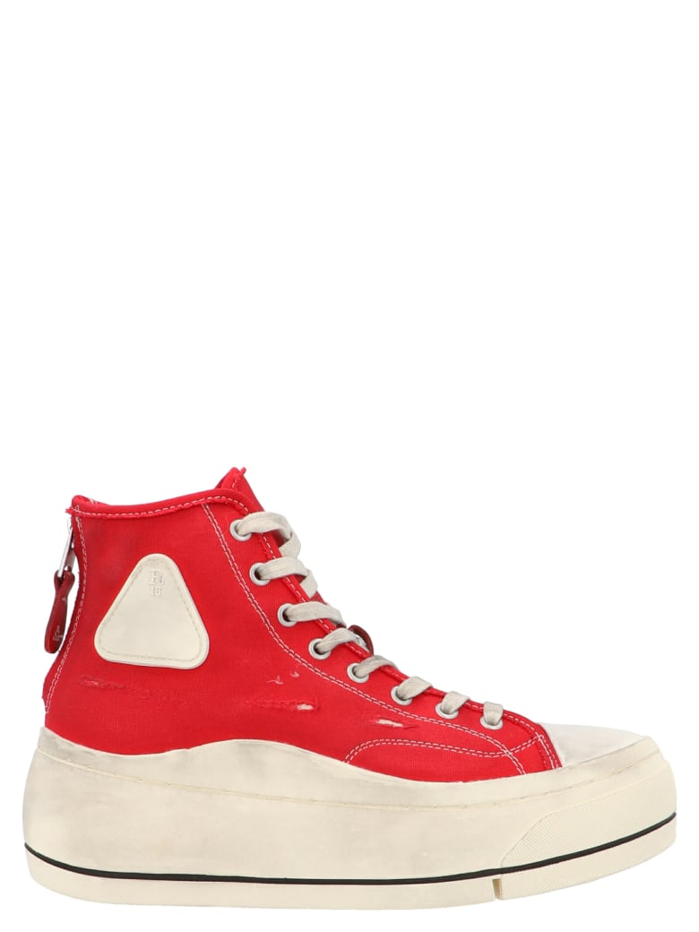 R13 'hi Top' Shoes - Red