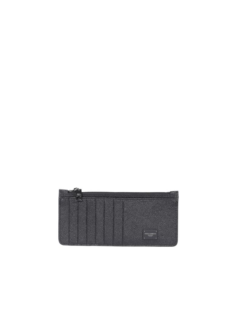 Dolce & Gabbana Logo Wallet - Nero