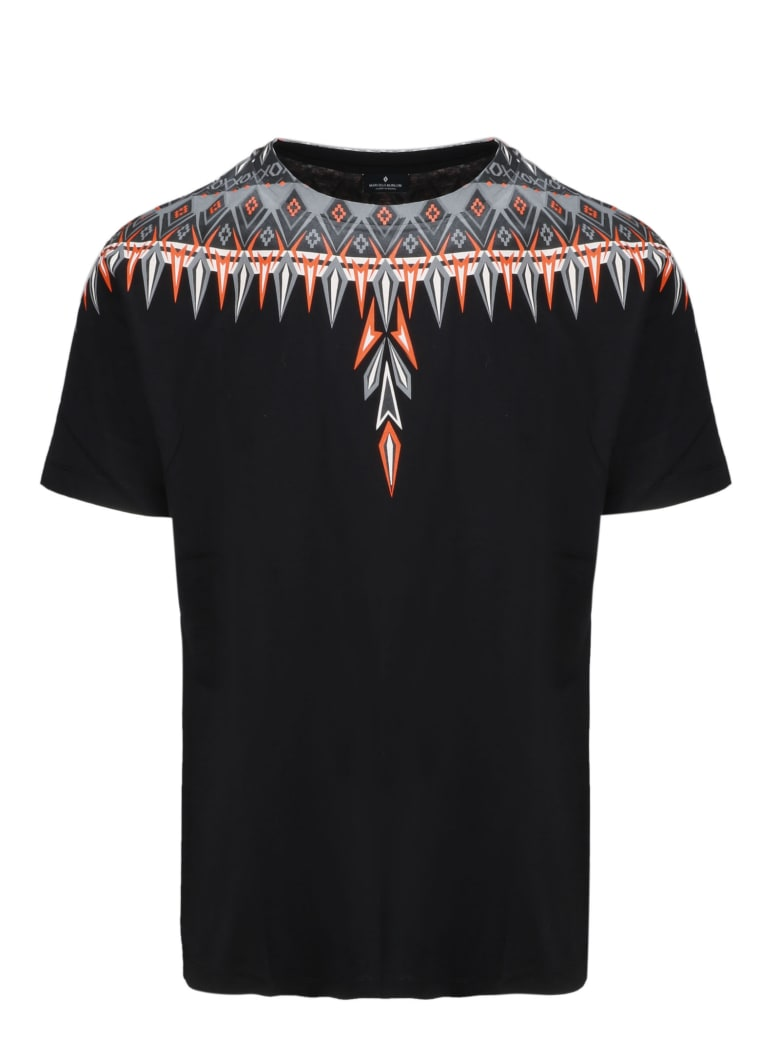 Marcelo Burlon Short Sleeve T-Shirt - Black