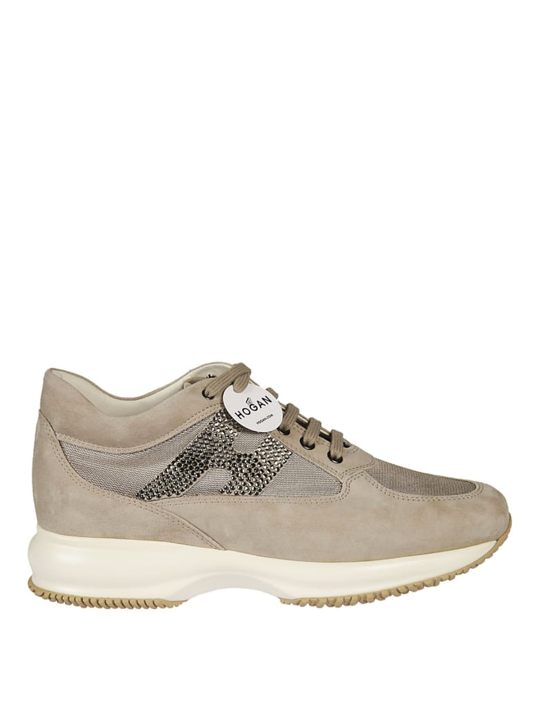 Hogan Laced Shoes - Beige