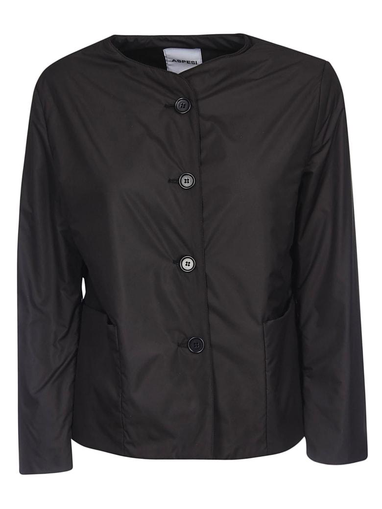 Aspesi Button-up Jacket - Black
