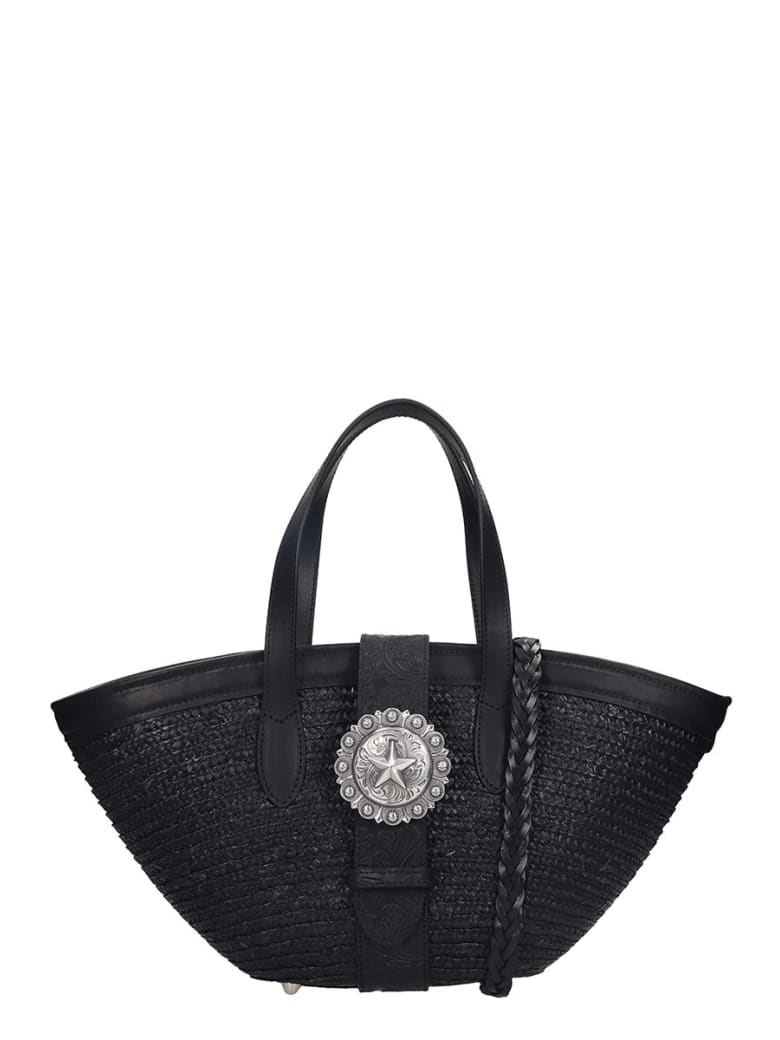 Kate Cate Beach Bag S Tote In Black Tech/synthetic - black