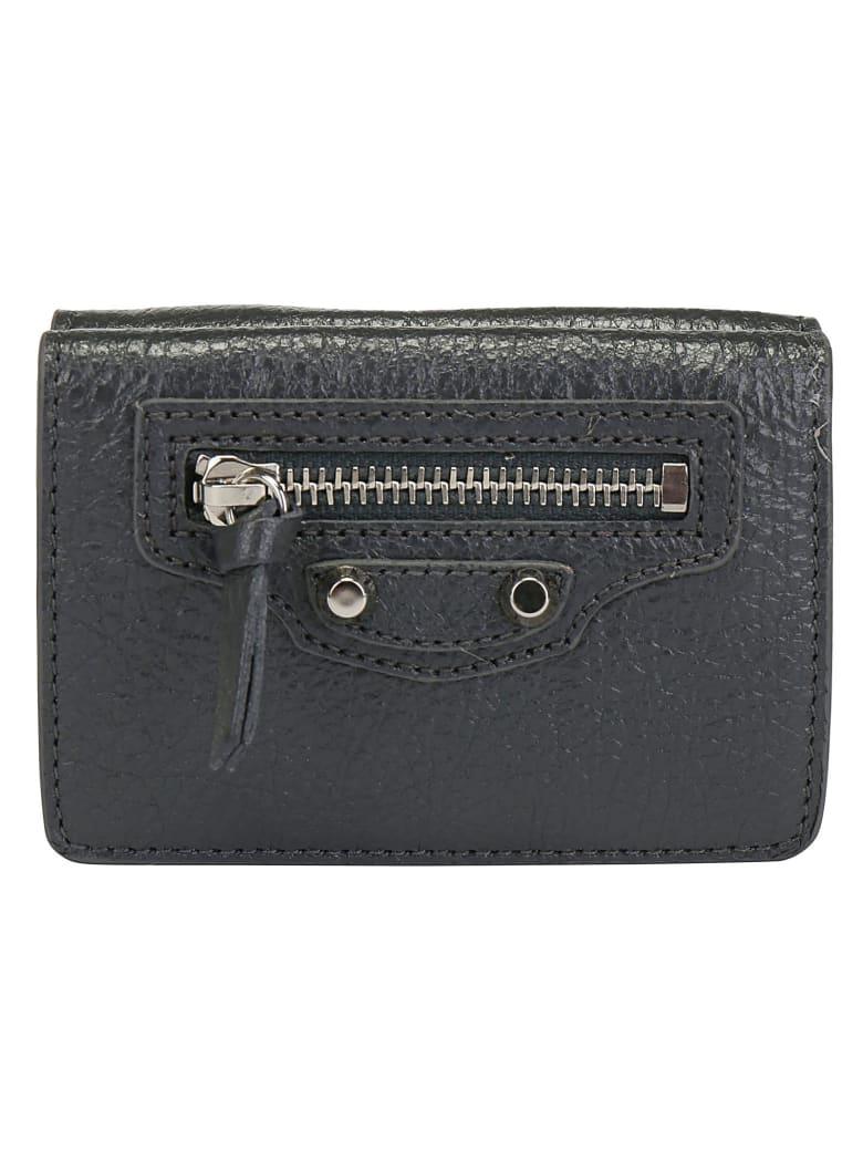 Balenciaga Classic Mini Wallet - Dark grey