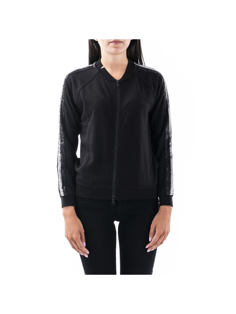 Sun 68 Sun68 Cotton Blend Jacket - BLACK