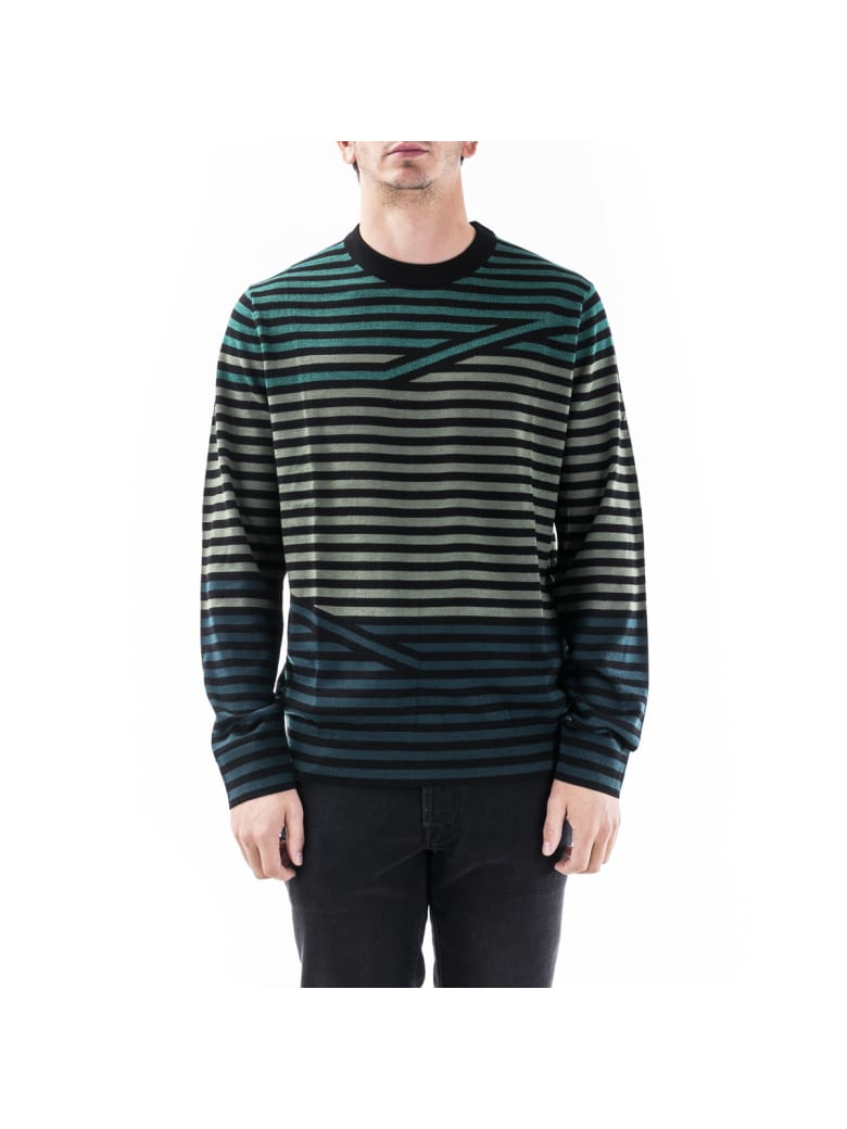 Paul Smith Ps Paul Smith Wool Pullover - Grigio