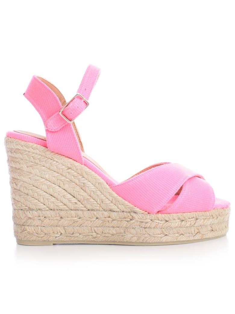 Castañer Blaudell Sandals W/belt On Ankle - Fucsia