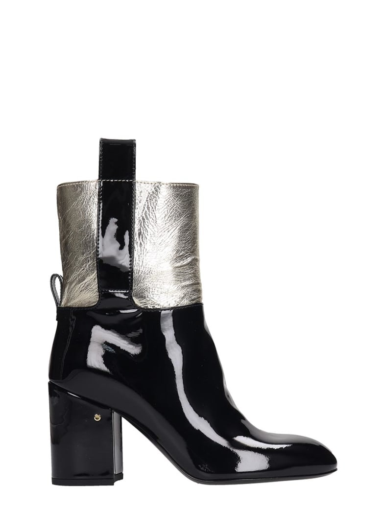 Laurence Dacade Vico High Heels Ankle Boots In White Leather - white
