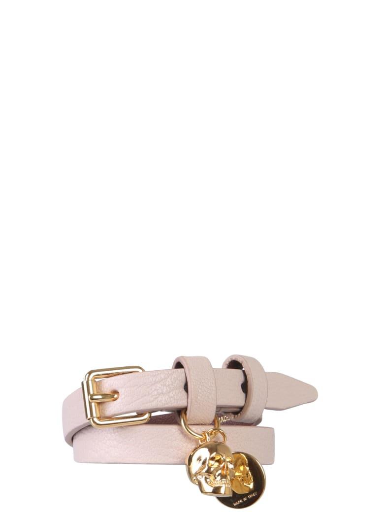 Alexander McQueen Bracelet With Double Turn - NUDE