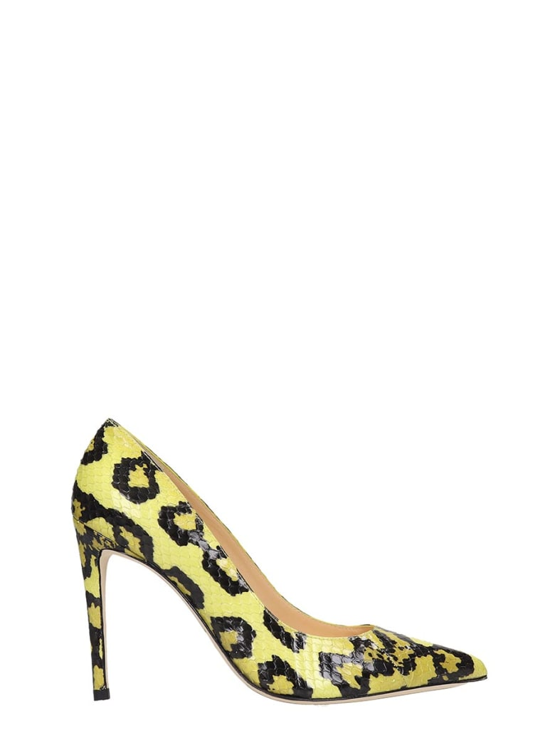 Alexandre Birman Pumps In Yellow Leather - yellow