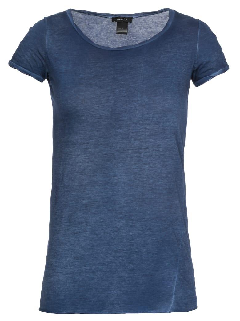 Avant Toi Cotton T-shirt - DENIM