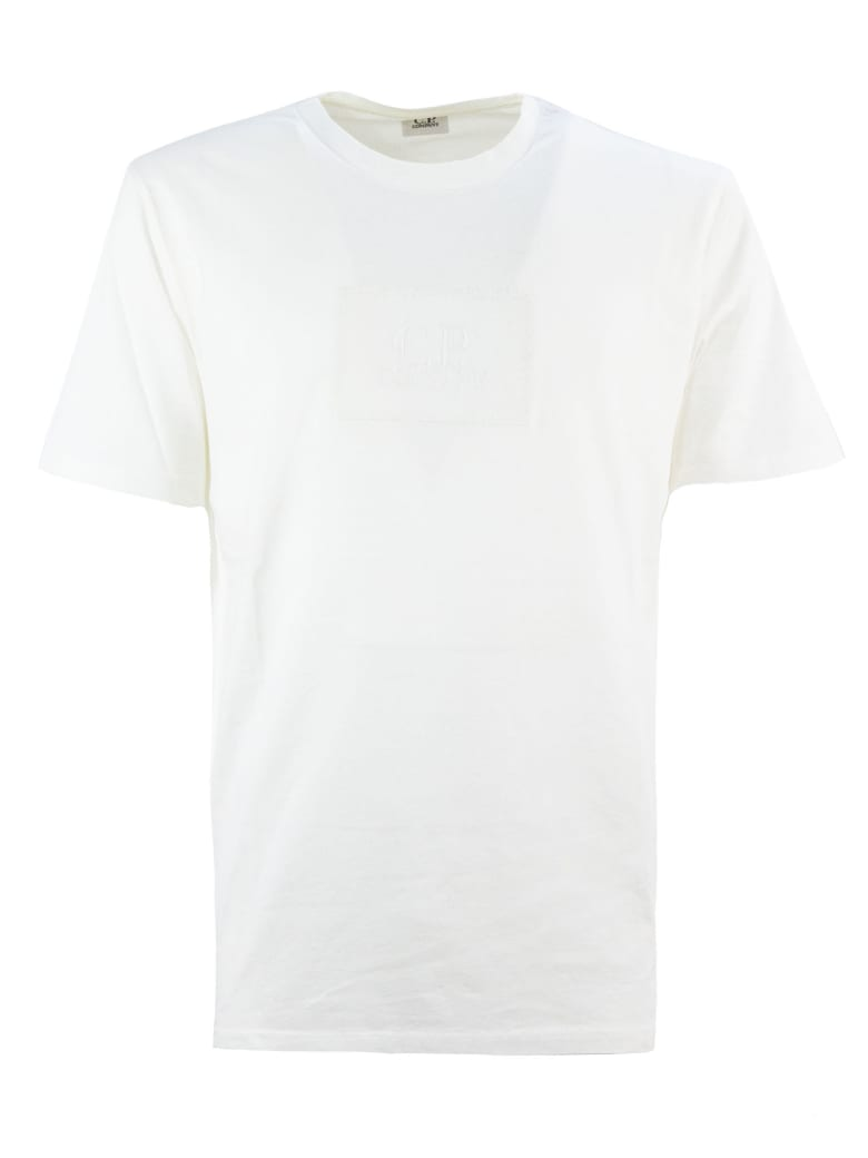 C.P. Company White Cotton T-shirt - Bianco