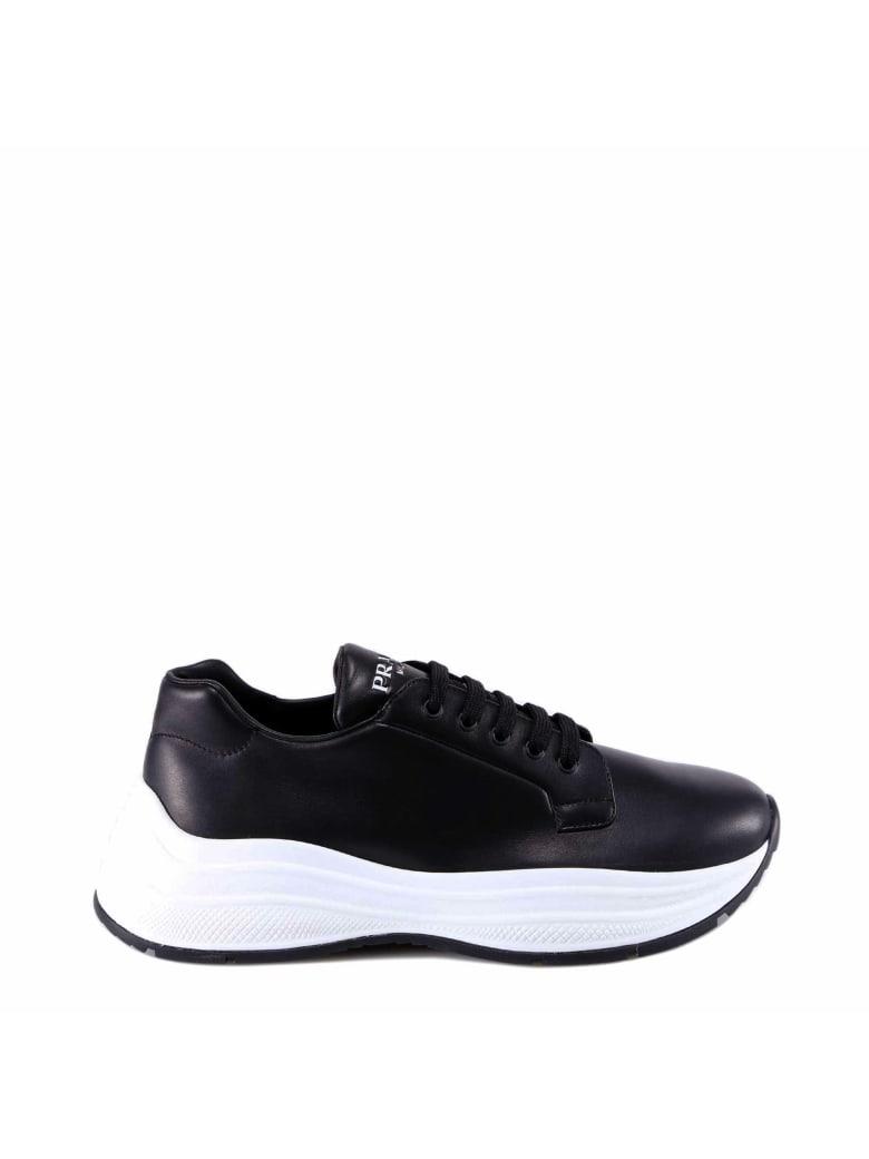 Prada Linea Rossa Sneakers - Black