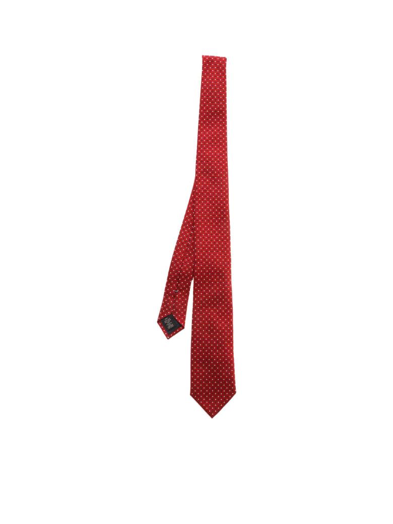 Ermenegildo Zegna Silk - A Red Fant.