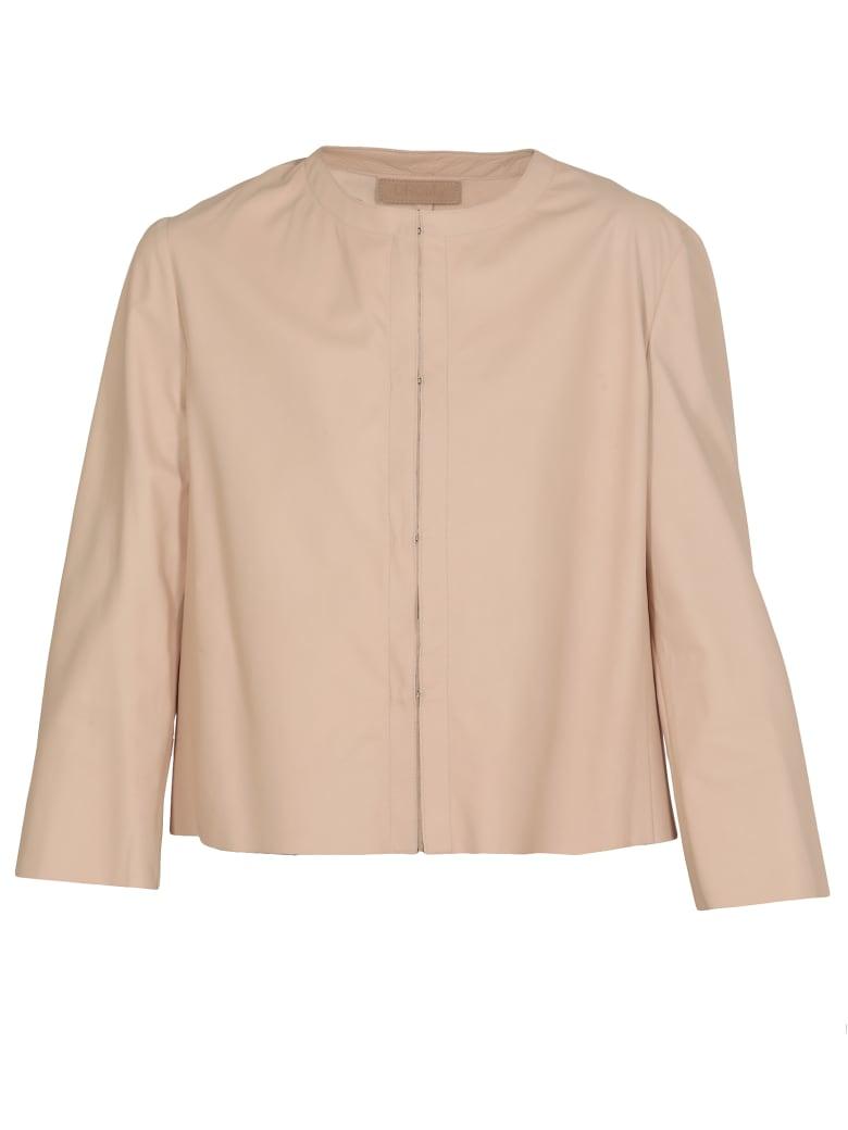 DROMe Leather Jacket - Blush